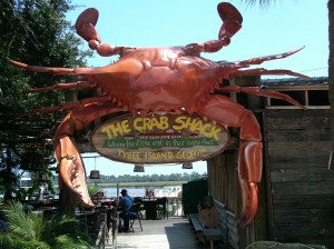 The Crab Shack Tybee Island order the Low Country Boil