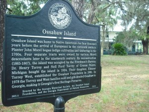 Ossabaw Island historical site